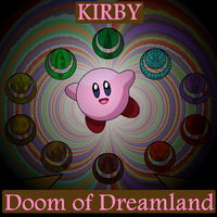Kirby Doom of Dreamland Logo