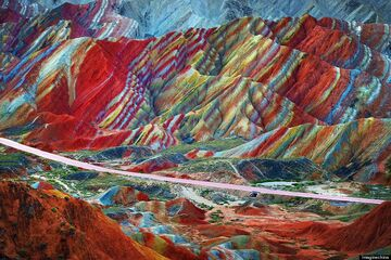 Zhangye Danxia Landform China