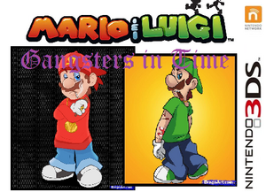 Mario & Luigi Gangsters in Time