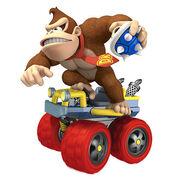 Donkey kong Mario Kart 7