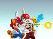 Mario's Powe-Ups
