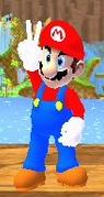Mario classic text