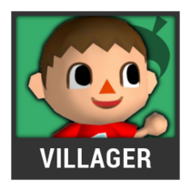ACL -- Super Smash Bros. Switch character box - Villager