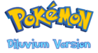 Pokemon Diluvium Version Logo