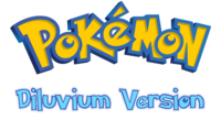 Pokemon Diluvium Version Logo