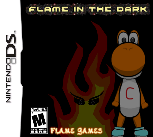 File:Flame in the Dark DS Boxart.png
