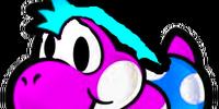 Yoshi's Sister (Paper Mario: The 5,555 Year Door)