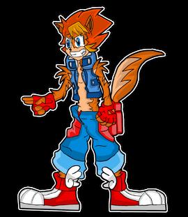 Jerrix Cruiser character design Final Design