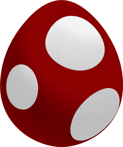 File:Maroon Baby Yoshi Egg.png