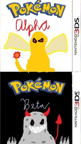 Pokemon Alpha Beta