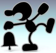 Smash Bros Brawl Mr Game and Watch
