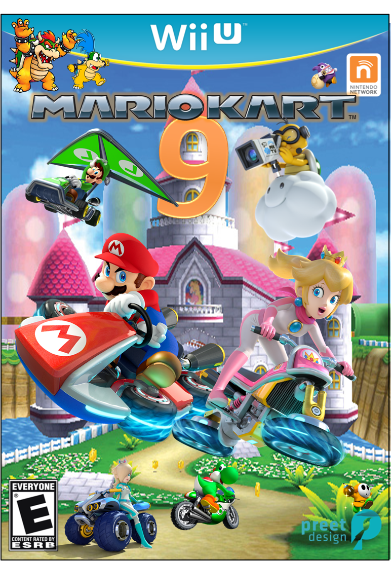mario kart 9 exclusive to wii u fantendo nintendo fanon wiki fandom powered by wikia. Black Bedroom Furniture Sets. Home Design Ideas