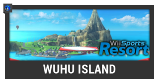 ACL -- Super Smash Bros. Switch stage box - Wuhu Island