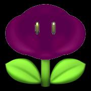 Dark cloud flower