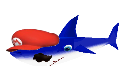 File:Shark Mario.....png