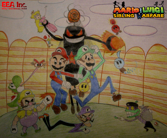 File:Mario & Luigi Sibling Warfare Full Boxart.png