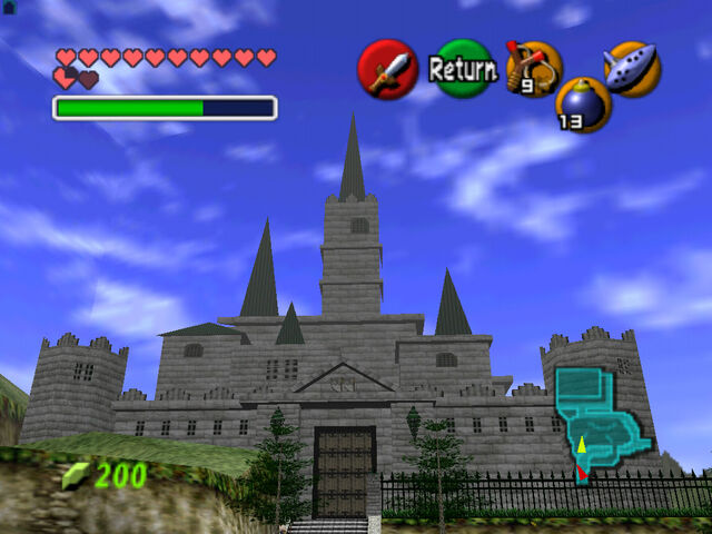 File:Hyrule Castle by GannySha.jpg