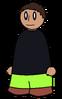 Pants Light Green Generic
