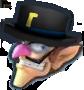 Gentleman Waluigi Icon MGGT