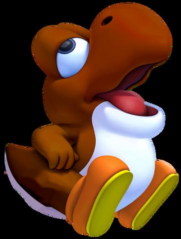 File:Brown Baby Yoshi.png