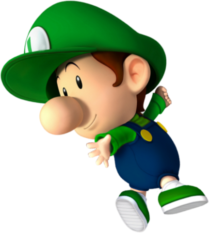 File:Baby Luigi NSMBDIY.png