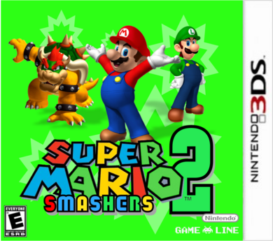 Super Mario Smashers 2 USA Boxart
