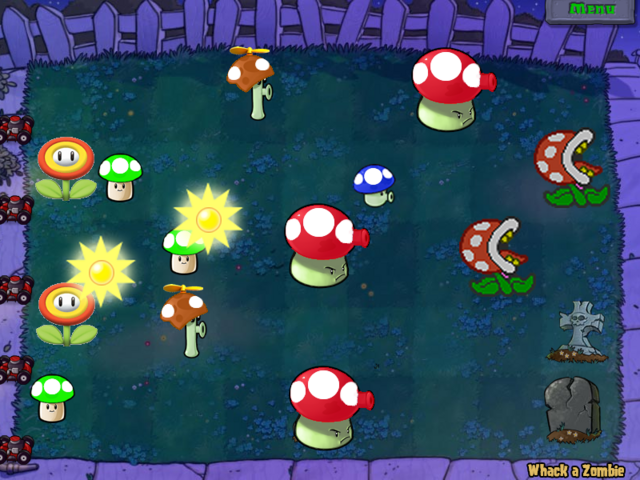File:Plants vs zombies mario editon by juanmemo.png
