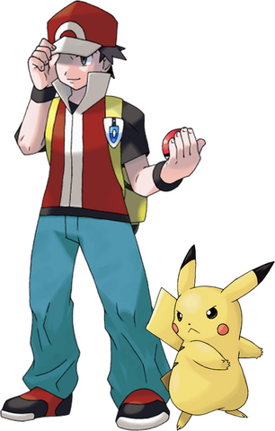 File:Pikachu & Red by Xous54.png