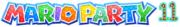 Mario Party 11 logo