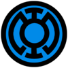 Blue lantern corps symbol fill by mr droy-d613gry