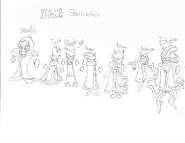 Beta Starcrashers by Proto Boshi