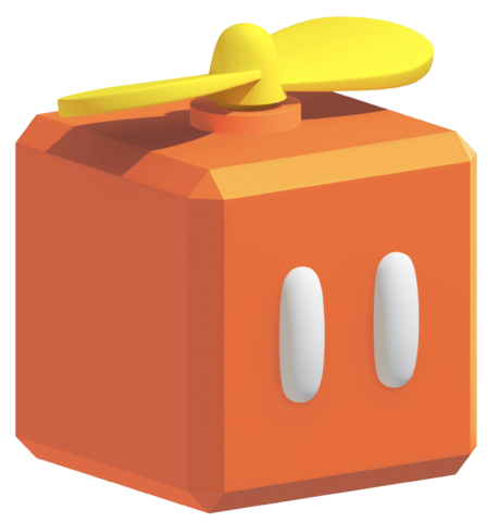 File:Orange Propeller block SM3DL.png
