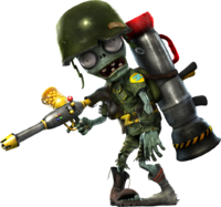 Plants vs Zombies Garden Warfare - Foot Soldier