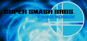 Super smash bros. pandemonium logo