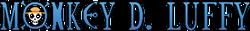 Versus Planet - Monkey D Luffy logo