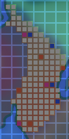 Glitched Plateau Map