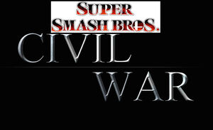 Smash Bros Civil War Logo