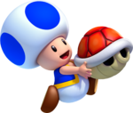 Blue Toad Artwork