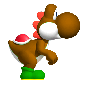 File:Brown YoshiSMWWii.png