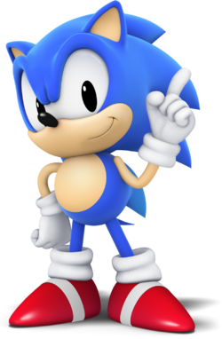 Classic sonic cg style by mintenndo-d8rf7o3