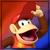Diddy Kong - Jake's Super Smash Bros. icon