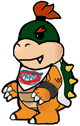 File:Paper Bowser Koopa Jr.png
