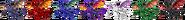 SSBRiot Ridley Color Palettes