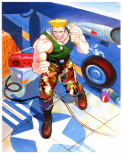 StreetFighterII GuileCharacterPoster