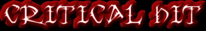 Critical hit logo