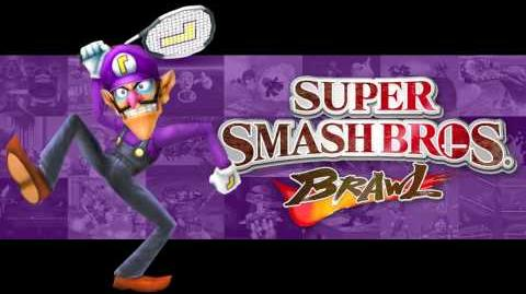 Waluigi Pinball - Super Smash Bros