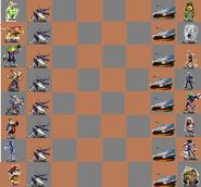 Amiibo Chess StarFox Bourd