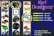 Kart select