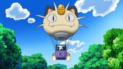 Meowth balloon