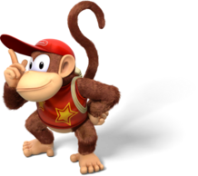 Diddy Kong Artwork - Donkey Kong Country Tropical Freeze